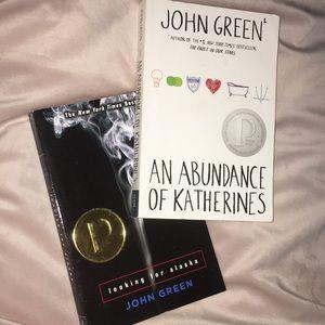 John green books!!